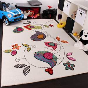Kinderzimmer Teppich Beige : kinder teppich vogel design creme blau orange gr n kinderteppiche ~ Whattoseeinmadrid.com Haus und Dekorationen