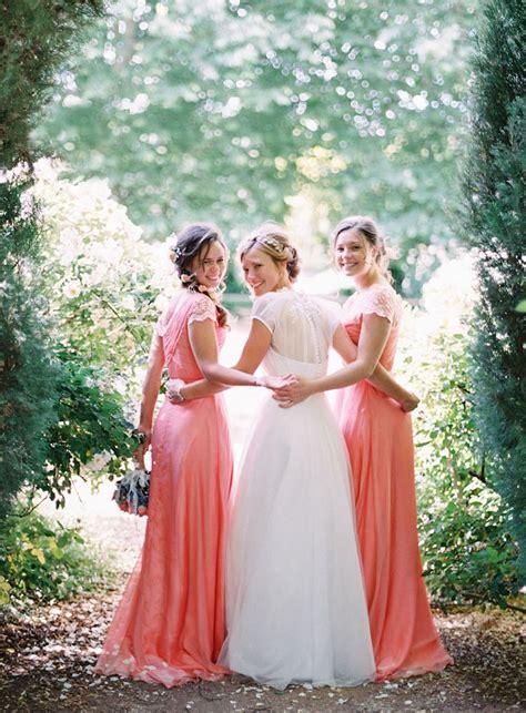 chic bohemian bridesmaid dresses ideas deer pearl flowers