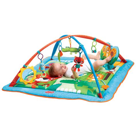 tapis d 233 veil kick and play city safari de tiny