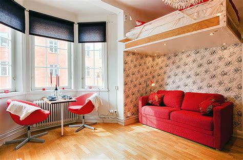 Inspired Designs For Small Studio Apartments  Furniture