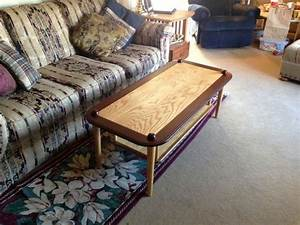 custom made quotbaseball themedquot coffee table by the plane With themed coffee tables