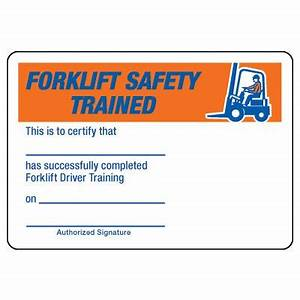 certification photo wallet cards forklift safety driver With forklift licence template