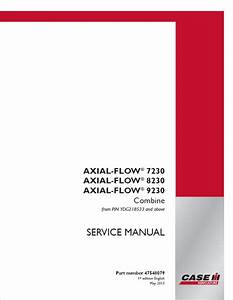 Case Axial 8230  9230 Combine Pdf Service Manual