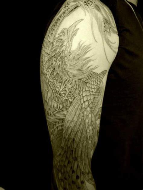 shoulder arm phoenix tattoo  wizdom tattoo