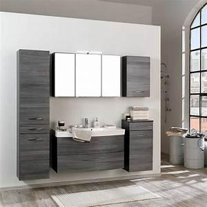 Bad Set Grau : badezimmer komplettset darina in eiche grau ~ Indierocktalk.com Haus und Dekorationen