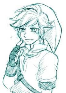 Legend of Zelda Link Sword Drawings