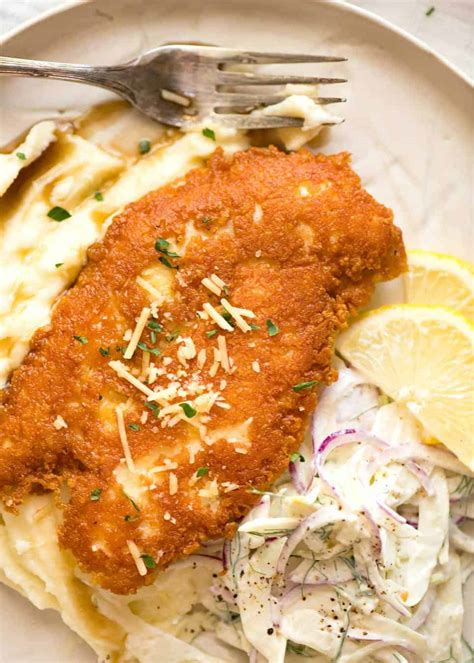 parmesan chicken crusted breast crispy recipe recipes recipetineats oven keto easy low dinner lemon carb