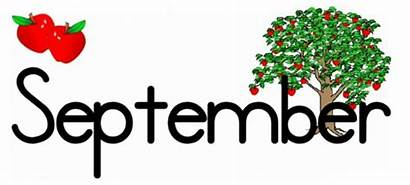 September Calendar Birthday Hello Clipart Banners Birthdays