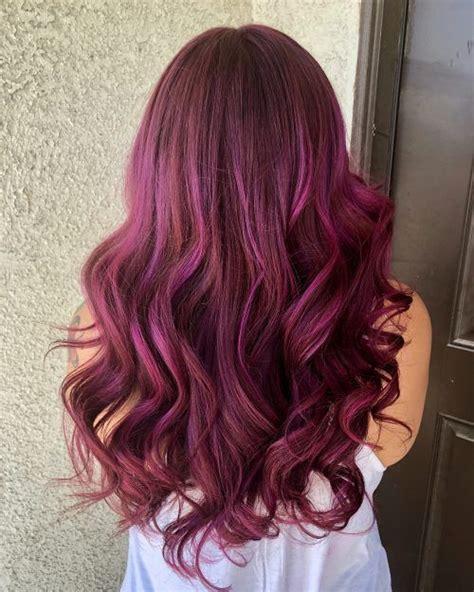 burgundy hair color ideas   yummy wine