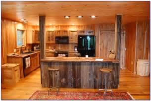 Diy Barnwood Headboard by Rustic Kitchen Cabinets Diy Kitchen Set Home