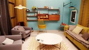 Décoration Salon Jaune Moutarde : d coration salon jaune moutarde ~ Melissatoandfro.com Idées de Décoration