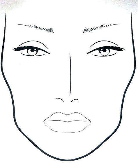 mac face template  makeup makeupviewco