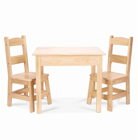 2 chair table set kids table and chair sets awesome melissa doug solid wood
