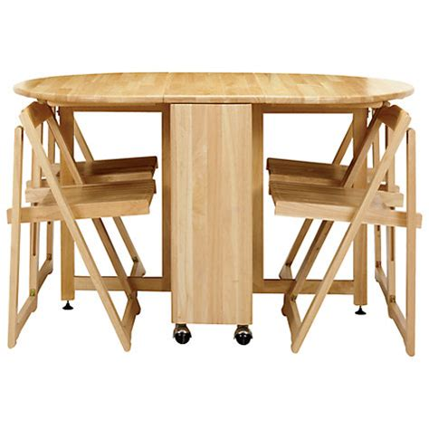 buy lewis butterfly folding dining table and four