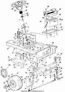 Mtd Grasshandler Mdl 850 8888 Parts Diagram For Parts