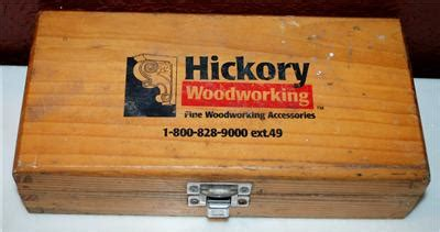 hickory woodworking router bit set fine woodworking
