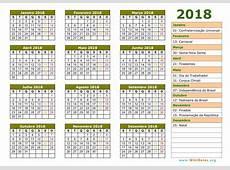 Calendário Janeiro 2018 WikiDatesorg