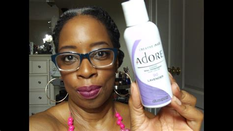 Lavender Semi Permanent Color Rinse On Natural Hair