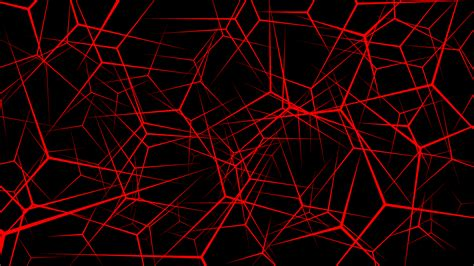 Abstract Background ''neurons'' (red) 4k By Pleb-lord On