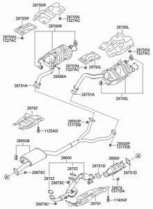 287512b100 - Hyundai Gasket
