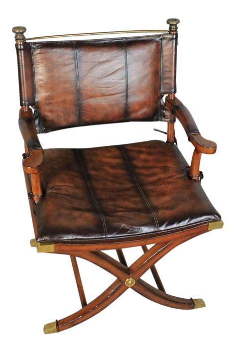 hemingway safari chair chairish