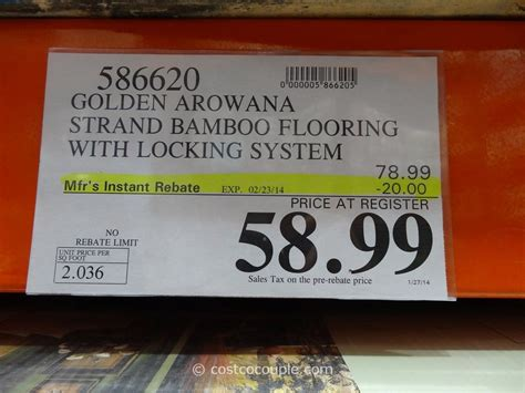 bamboo flooring costco roselawnlutheran