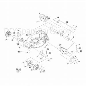 Shanks 448kjr  448kjr  Parts Diagram  Deck  Roller  Wheels
