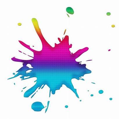Splash Colour Colours Clipart Splatter Ink Blood