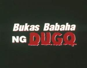 Imcdb Org   U0026quot Bukas  Babaha Ng Dugo  2001 U0026quot   Cars  Bikes