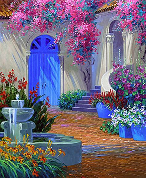 fond d écran fleur scenery wallpaper fond d 233 cran paysage de fleurs