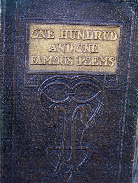 1929 one hundred and one poems my book nook