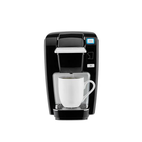 It features five brew sizes, so you can brew your favorite coffee, tea, hot cocoa, or iced beverage at the touch of a button. Keurig K15 Classic Single Serve Coffee Maker-119249 - The Home Depot