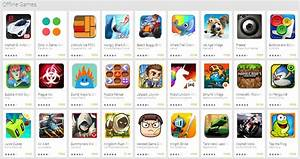 Google adds Offline Games collection to Google Play