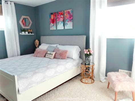 Glam Bedroom by Modern Glam Master Bedroom Reveal Beauteeful Living