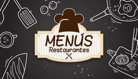 como hacer  menu  restaurante facil  rapido