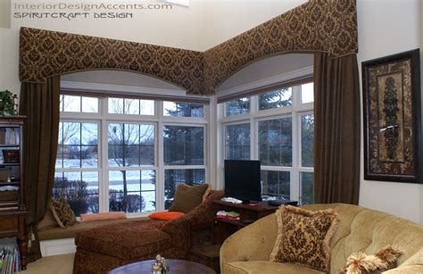 cornice window treatments  drapery panels interior