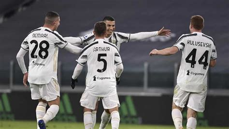 Serie A: Ronaldo double lifts Juventus into second place ...