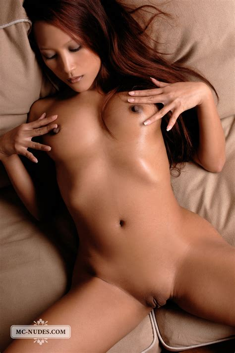 Asian Beauty Ayla Bending Her Fabulous Body In This Fine