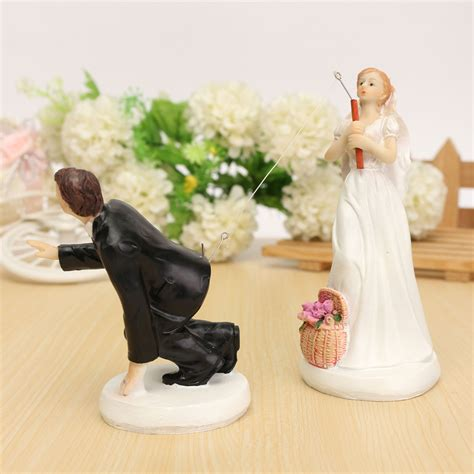 cheap wedding cake toppers get cheap fishing wedding cake toppers aliexpress