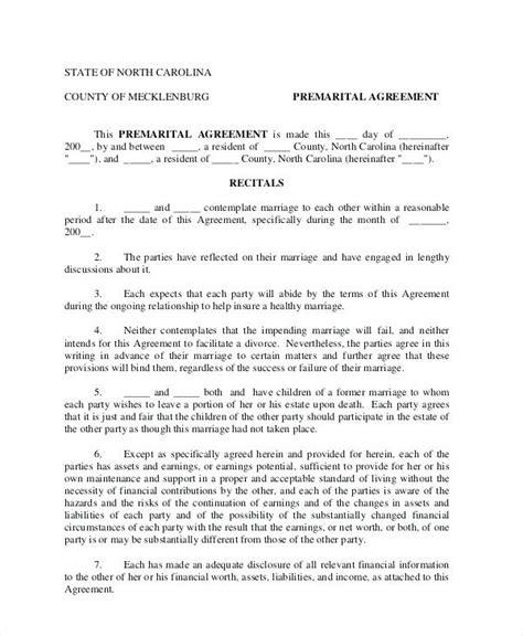 illinois prenuptial agreement form 8 elegant prenuptial agreement form free north carolina