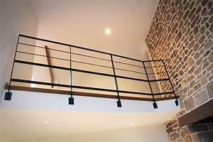 Garde corps escalier moderne pour l'intérieur et l'extérieur