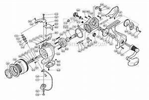 Shimano Sy4000fj Parts List And Diagram