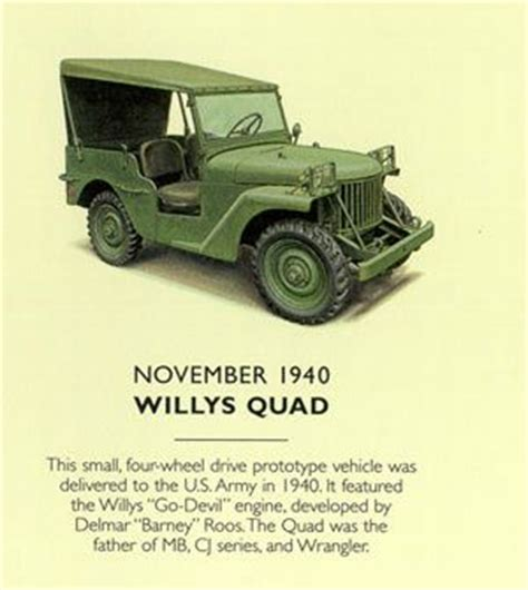 willys quad this small four wheel drive prototype known as quot willys