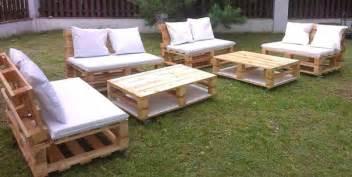 20 mod 232 les de salons de jardin fabriqu 233 s en bois de palettes