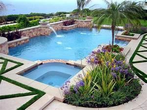 piscine de jardin 25 idees avec une touche mediterraneenne With lovely amenagement terrasse piscine exterieure 3 piscine exterieur 90 photos et idees inspirantes