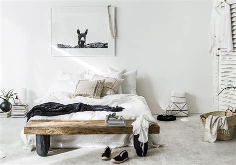 chambre blanche et davaus chambre blanche et bois avec des idées