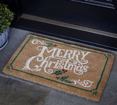 Merry Doormat by Merry Doormat Pottery Barn