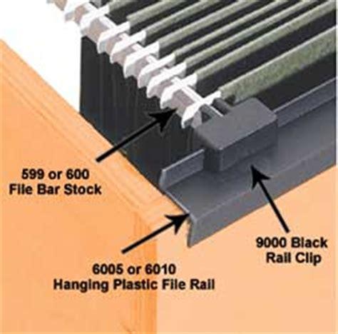 plastic hanging file folder drawer moulding