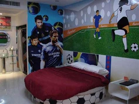Soccer Decorations For Bedroom by Soccer Bedrooms Interior Decorating Ideas Bedroom