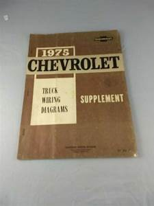 1975 Chevrolet Truck Wiring Diagrams Supplement Manual
